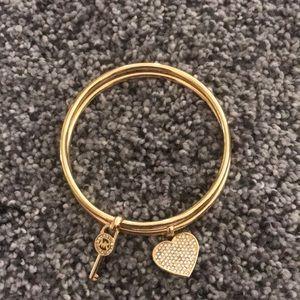 Micheal Kors bracelet set